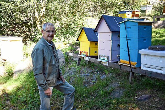 Jonne Ansgariusson tror att den positiva utvecklingen för biodling i Sverige beror på ett miljöengagemang.