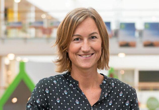 Karin Amnå, senior hållbarhetsutvecklare, Ica.