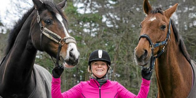 """""""Tack hästar – ni gav mig livslusten tillbaka!"""""""
