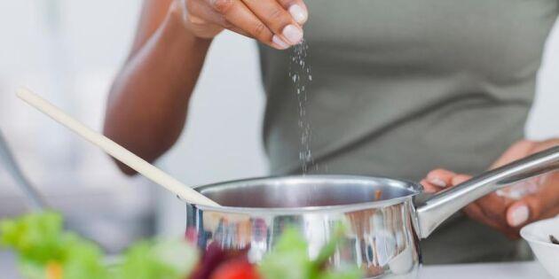 Rädda hjärtat! 7 sätt att dra ner på saltet