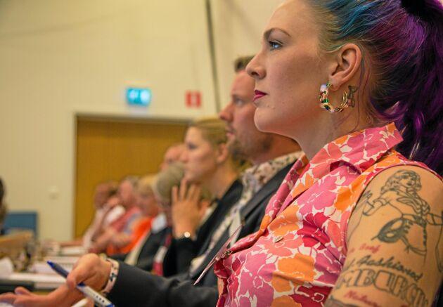 Emilia Astrenius Widerström valdes om till ordförande för LRF Ungdomen.