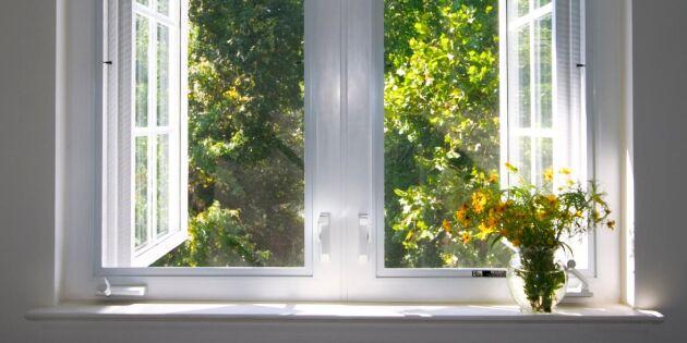 8 tips för att få det svalare inomhus