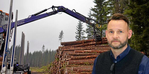Valutan slår mot enskilda skogsägare