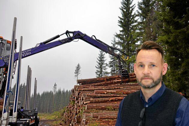 """""""Det kanske kan låta lite men för bulkindustrier som sågverk och cellulosaindustri innebär någon procents ändring av marginalerna stora belopp, som kan slå åt bägge håll"""", skriver AT:Ls skogsredaktör Ulf Aronsson."""
