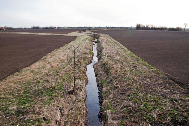 En miljöåtgärd är att anlägga skyddszoner utmed vattendrag.
