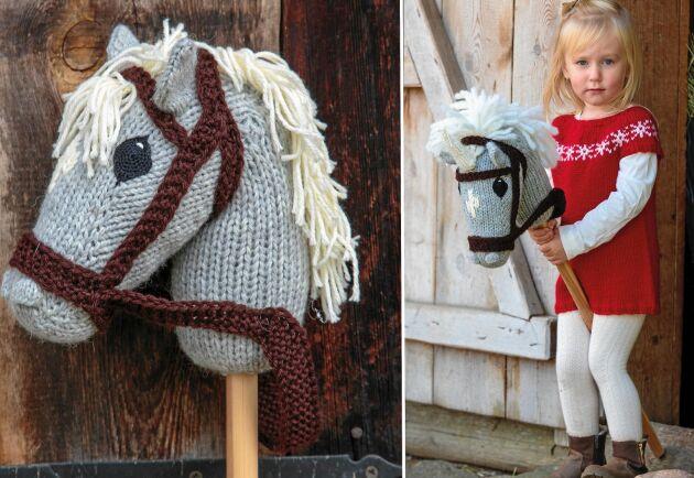 Även enhörningar behöver få komma ut ur stallet och motioneras. Utan horn blir det en häst.