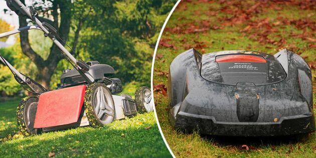 Så vinterpreppar du gräsklipparen – och undviker vanliga misstaget!