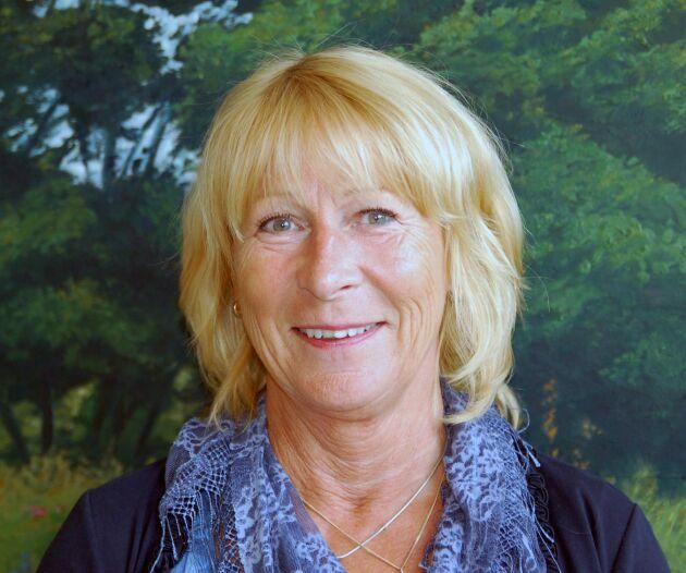 Margareta Åberg, ansvarig för grisfrågor på LRF.