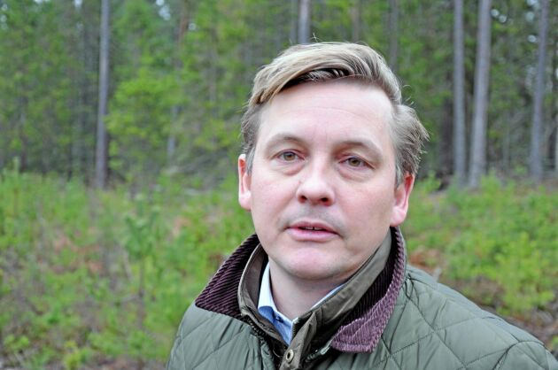 Carl-Fredrik Hamilton är vd för Boo egendom AB och den tolfte generationen i ägarfamiljen.