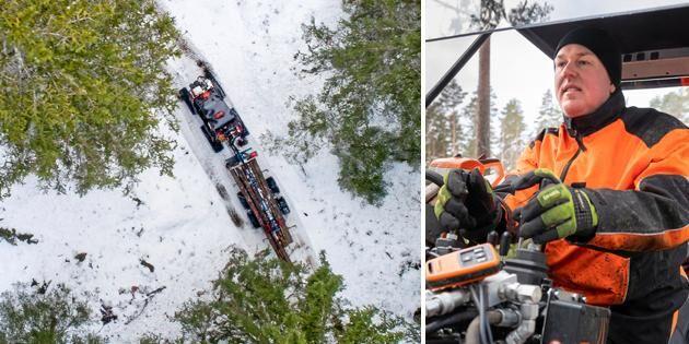 ATL TV: Banden gör fyrhjulingen till snömaskin