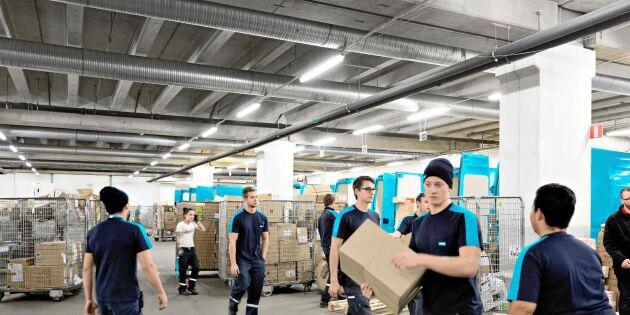Efter Postnords nya regler – 400 000 paket har inte hämtats