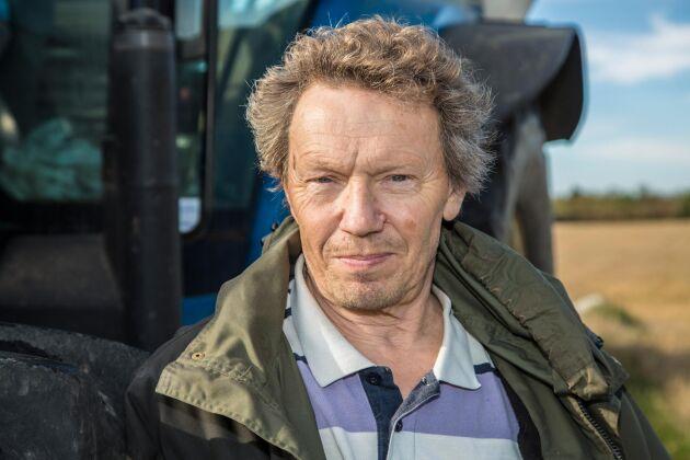 Björn Folkesson, lantbrukare, spannmålsodlare och krönikör.
