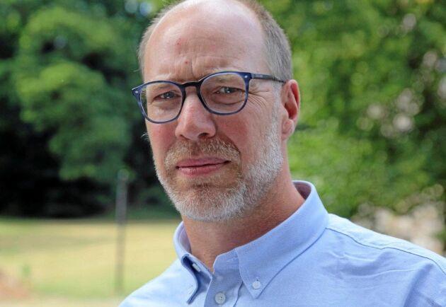 Mattias Hammarstedt växtodlingsrådgivare på HIR Skåne ser större risk för att proteinhalterna blir för låga i år, både i höstvete och i maltkorn, än att de blir för höga.