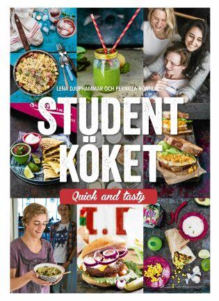 Kokboken heter Studentköket Quick and tasty, men recept passar alla som gillar god, nyttig och lättlagad mat.