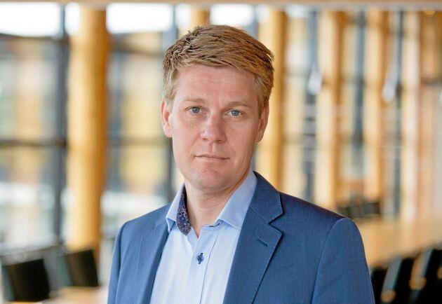 Olof Hansson blir ny affärsområdeschef för Södra Skog.