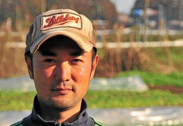 Setsuo Nakagoshi lämnade det välbetalda arbetet som börsmäklare för att bli grönsaksodlare.