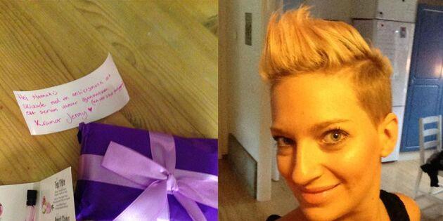 Hannah fick oväntat stöd i sorgen – på Facebook