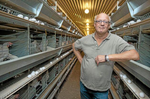 Michael Liedberg, lantbrukare och äggproducent, Ulfstorps Säteri.