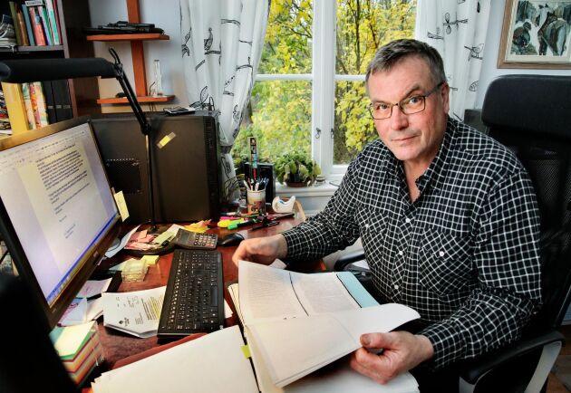– Jag kommer överklaga. Skogsstyrelsen har inte gjort det de fick i uppdrag av Förvaltningsrätten att göra, att pröva webbpubliceringen mot GDPR, säger Jan-Erik Andersson.