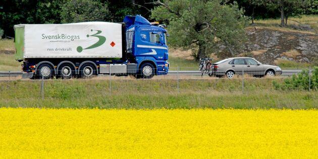 Så blir det lättare att transportera biogas