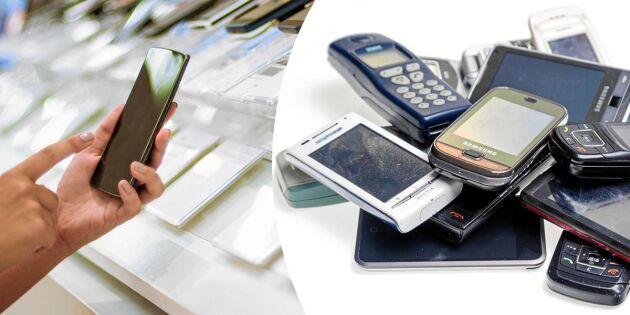 Lista: Så mycket kan du få för din gamla mobil