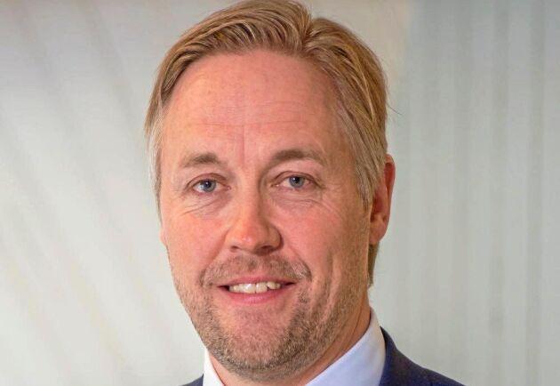"""""""Vi har ambitionen att fortsätta växa som skogsägare i Baltikum"""", säger Jonas Mårtensson."""