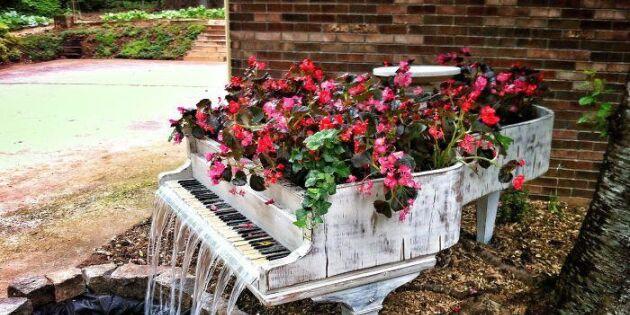 Vattenspel på piano