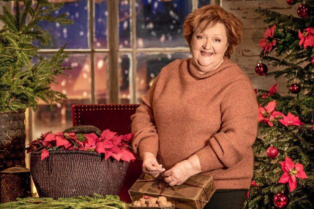 Marianne Mörck blir årets julvärd i SVT på julafton.