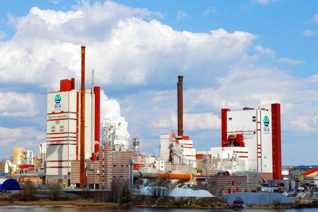 Det utbyggda Östrandsbruket drog upp resultatet för SCA jämfört med fjolåret.