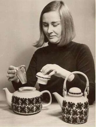 Marianne Westmans skapade ikoniska mönstret Picknick. Picknick framhålls idag som en ikon för skandinavisk design på 50-talet då det på den tiden var något helt nytt och banbrytande.