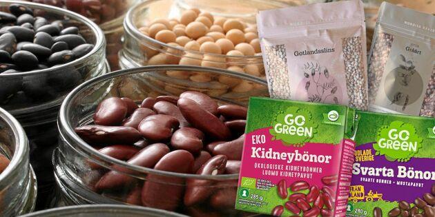 6 vegetariska råvaror som stöttar svenska bönder