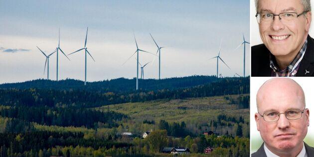 Svenska AP-fonder investerar i vindkraft