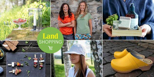 Nytt i butiken! Hållbara varor från svenska småföretag