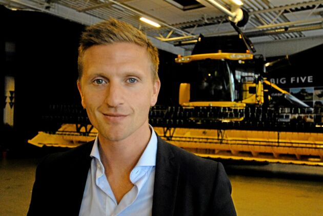 Johan Andersson, VD för Mellby Gård AB.