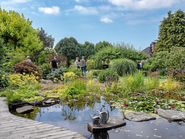 Vackra trädgårdar av alla de slag när Land anordnar Öppen trädgård den 19 juli 2020.