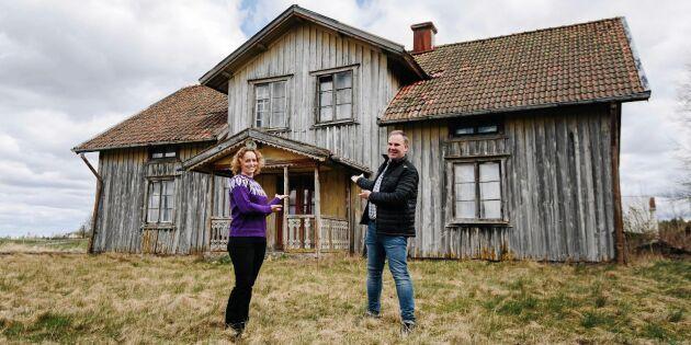 """Ödehusräddning blir tv-serie: """"Det gör ont i mig när jag ser dessa hus"""""""