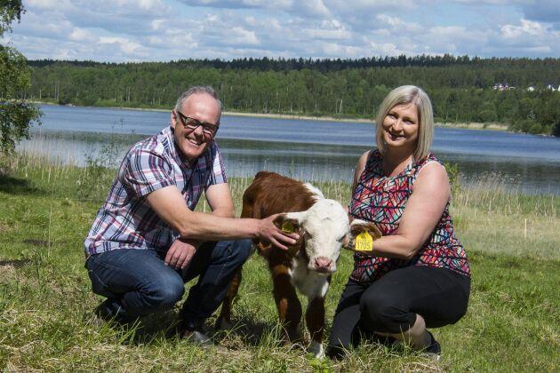 Peter och Irene Eriksson har sina kunder från Piteå i norr till Norrköping i söder.