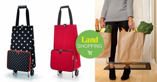 Varför skulle det vara smartare eller ballare att kånka tunga kassar än att använda en fiffig väska som avlastar kroppen?