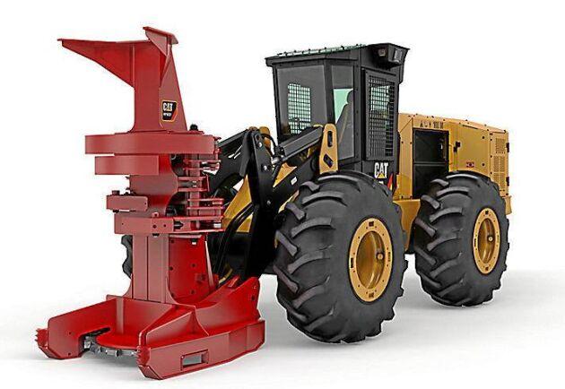 Weiler tar över tillverkningen av Caterpillars specialbyggda skogsmaskiner, som till exempel den här 573D.