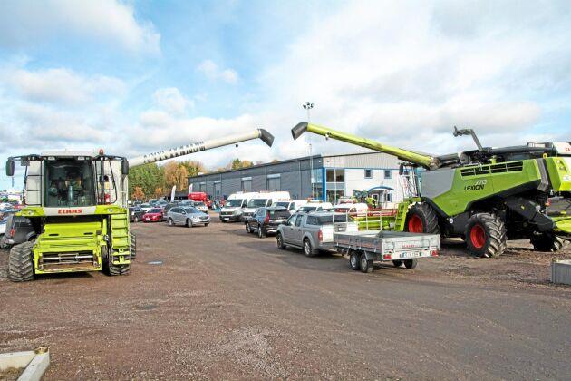 Skara är en av nio orter i landet där Swedish Agro Machinery antingen har startat eller ska starta verksamhet med fullservice.