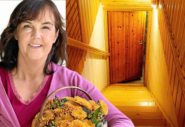 Lands Kristina Bäckström berättar om hur det känns när källarlivet är rena mardrömmen.