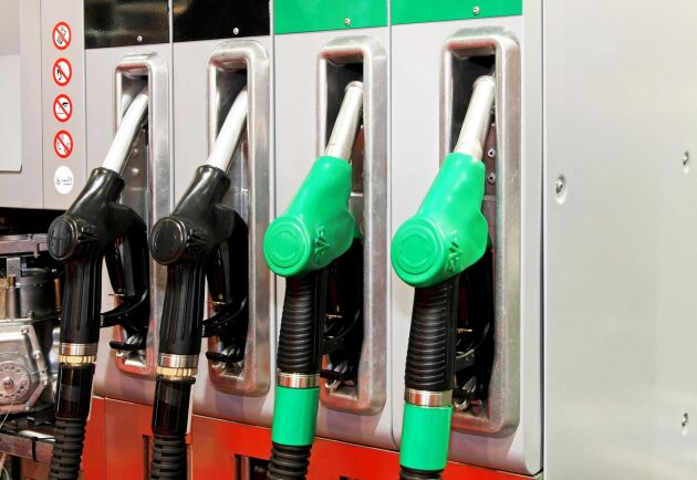 Under fredagen steg bensinpriset med 25 öre per liter. Arkivbild.