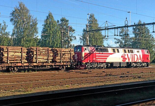 Vida förklarar delvis det försämrade resultatet med att ett ökat utbud av barkborreskadat timmer i Centraleuropa pressar ner timmerpriserna.