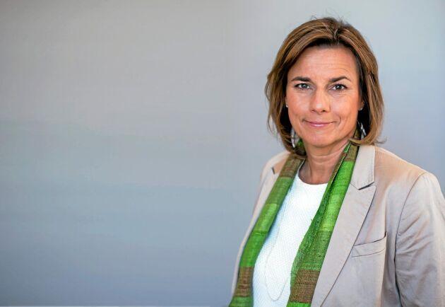Miljö- och klimatminister Isabella Lövin (MP).