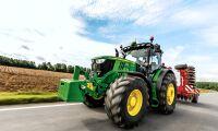 Tolv traktorer skiljer ettan från tvåan