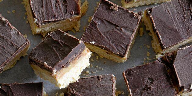 Chokladbiskvier i långpanna – måste testas!