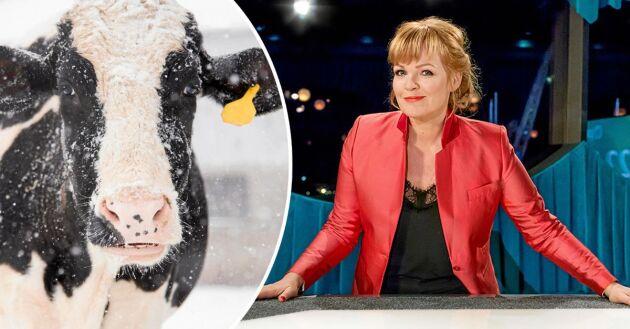 Belinda Olsson, programledare på SVT:s debattprogram Opinion live, beklagar att debatten ställdes in.