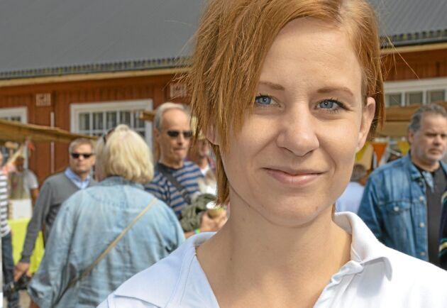 Malin Jakobsson, VD för Dalsspira Mejeri.