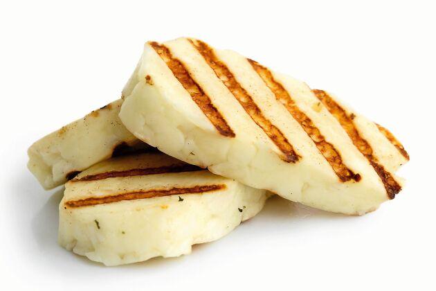 Svensk eldost är ett bra alternativ till halloumi från Cypern, där antibiotikaanvändningen är hög.