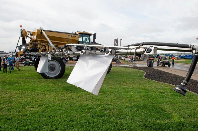 Nya RoGator AirMax är byggd för att öka kapaciteten med över 17 procent.